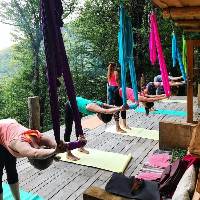 Выездные йога туры